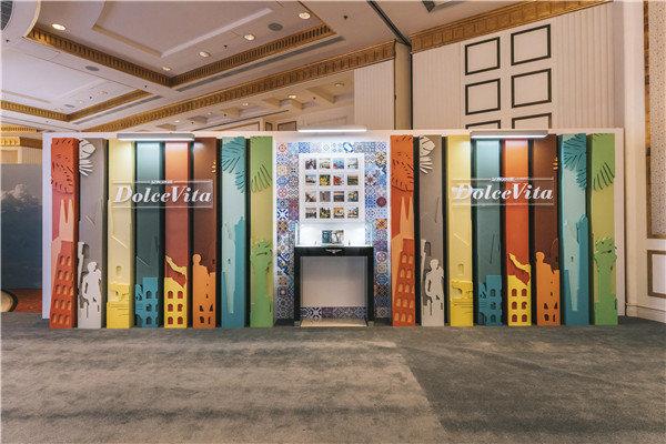 2020年6月,@浪琴表 2020新品鉴赏分别在北京、上海两地举办