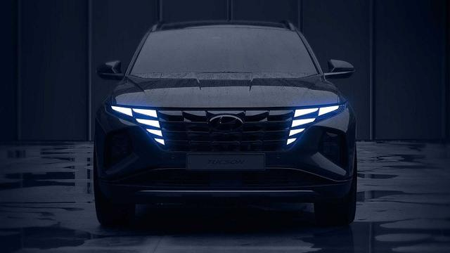 全新现代途胜最新内饰谍照曝光 将于2020北京车展首发
