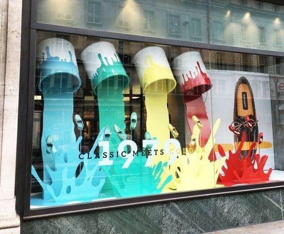 创意的店铺设计,艺术与商业的融合…