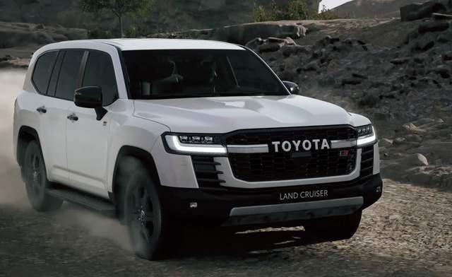 全新丰田陆巡正式发布,外观很霸气,内饰更精致,全系V6动力