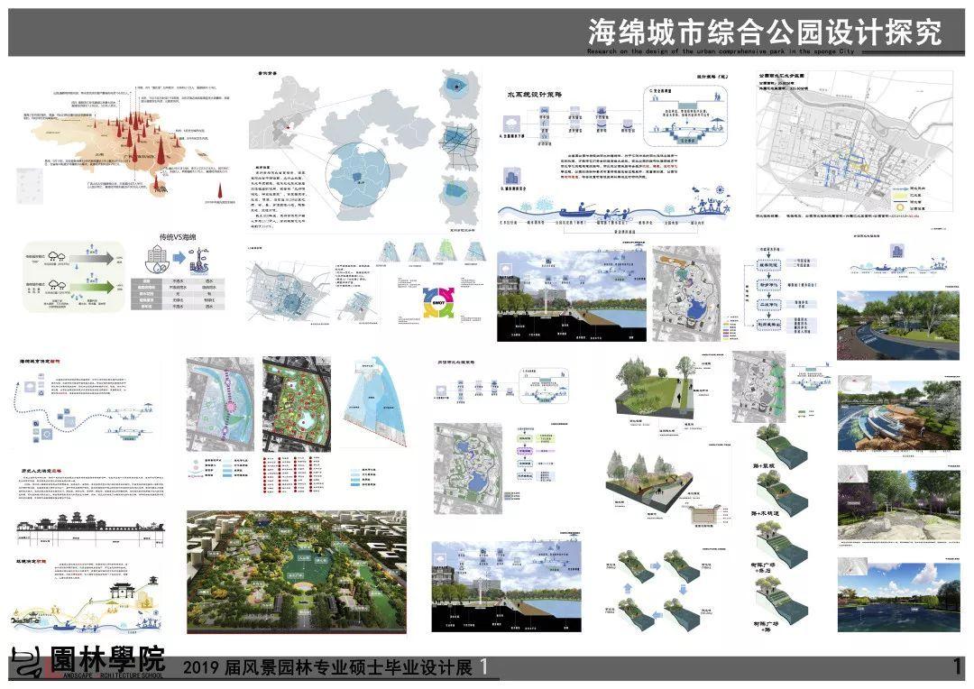 2019年北林风景园林硕士毕业设计作品