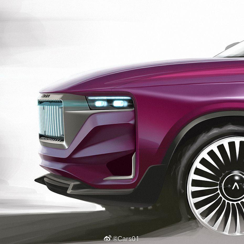 意大利汽车品牌Aznom与Camal设计工作室合作打造一款全地形豪华跨界轿