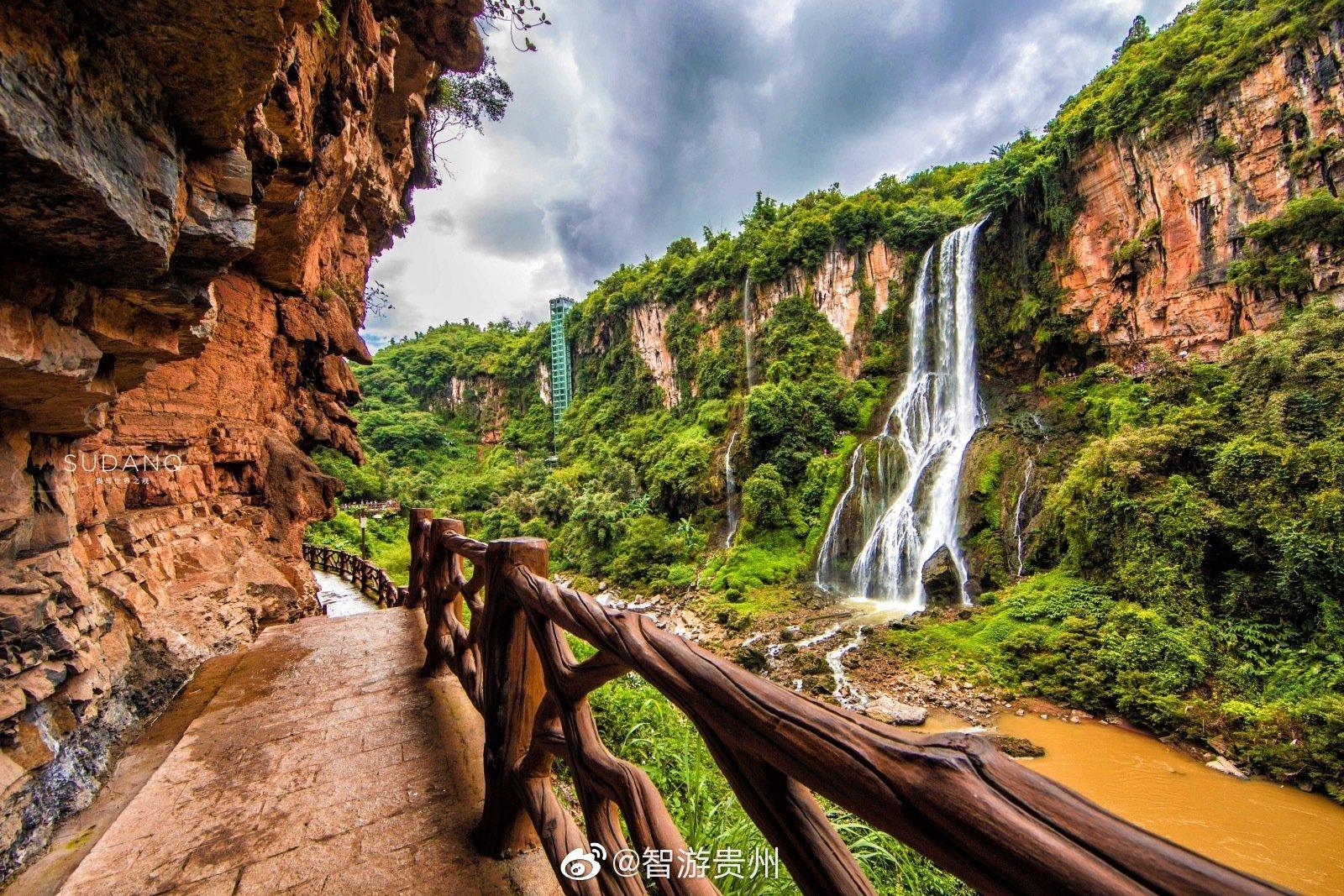 贵州探险,74.8千米长的神秘大峡谷,大自然的独特魅力