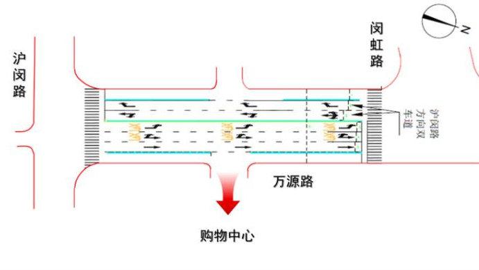 行程时间减少,排队长度缩短……万源路这个区段交通有改善→