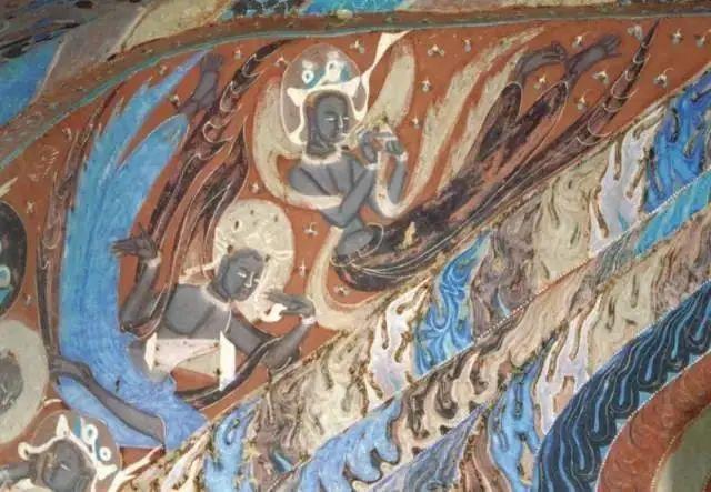 敦煌的石窟壁画,每一处都是一个故事。 不仅是去欣赏外在的美