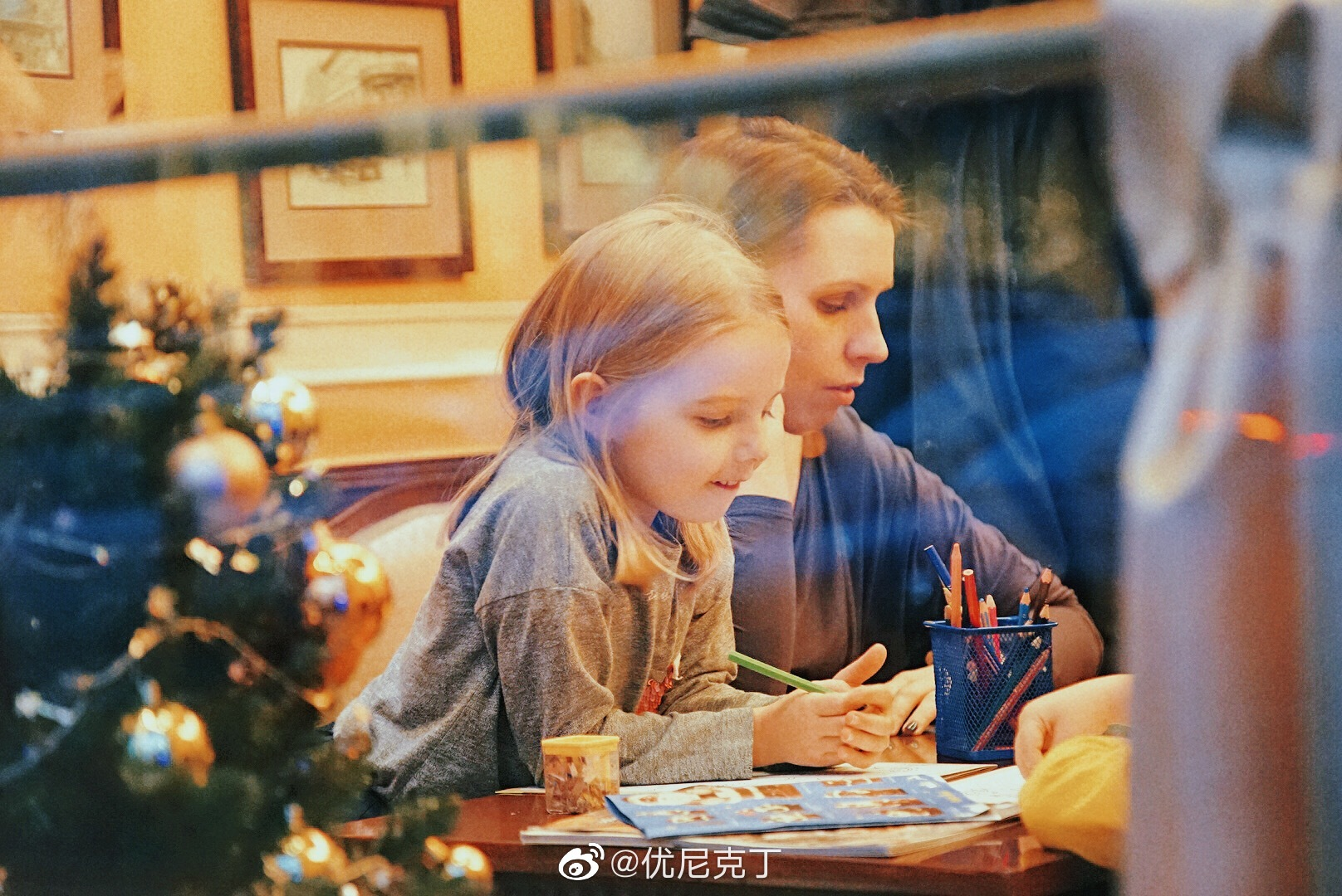 那年波兰华沙的圣诞餐—————————话说圣诞节🎄快到啦你