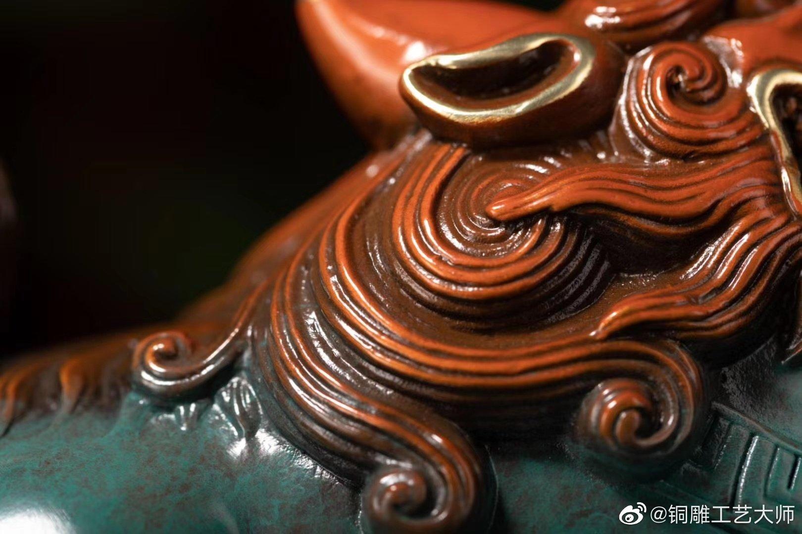 朱炳仁·铜的貔貅不仅漂亮,还特旺财