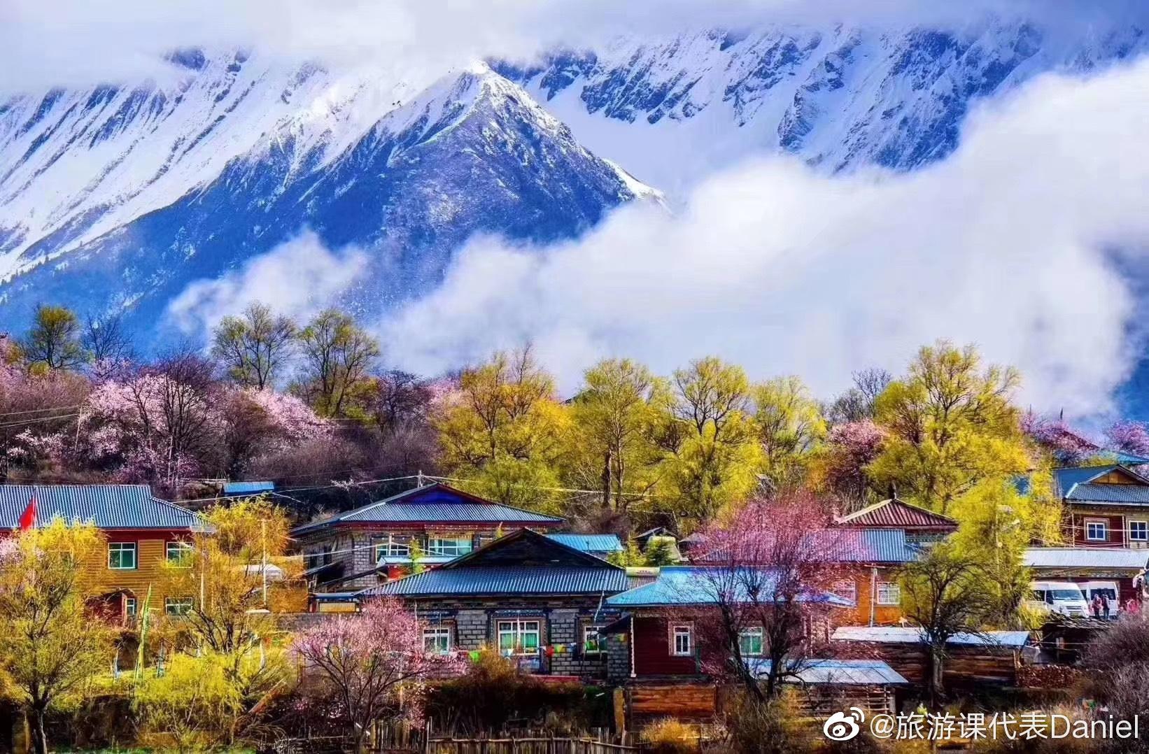 云春游直播2020年4月2日在林芝巴宜区嘎拉村举办林芝第18届桃花旅游文