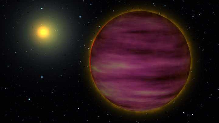 新发现一颗大木星6倍的行星,表面高达161℃,公转一周110万年