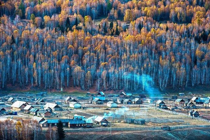 新疆禾木之秋 | 仿佛油画里的世外桃源