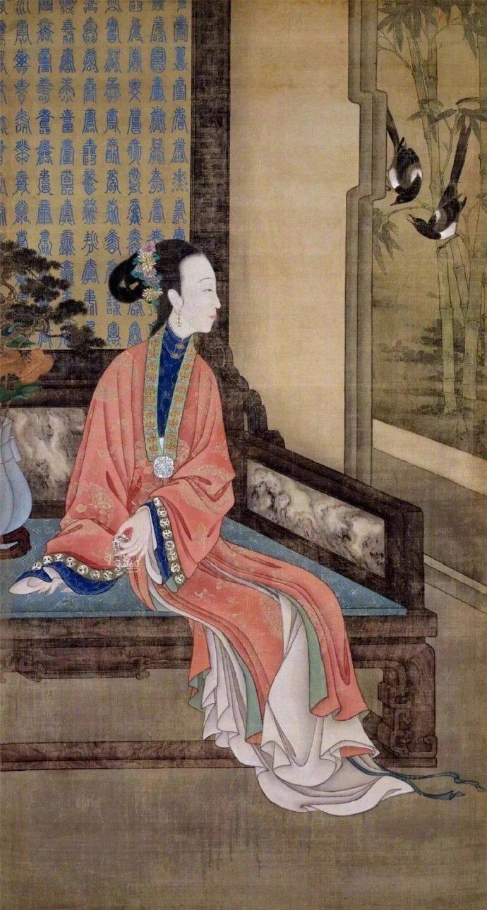 《十二美人图》现藏于北京故宫博物院