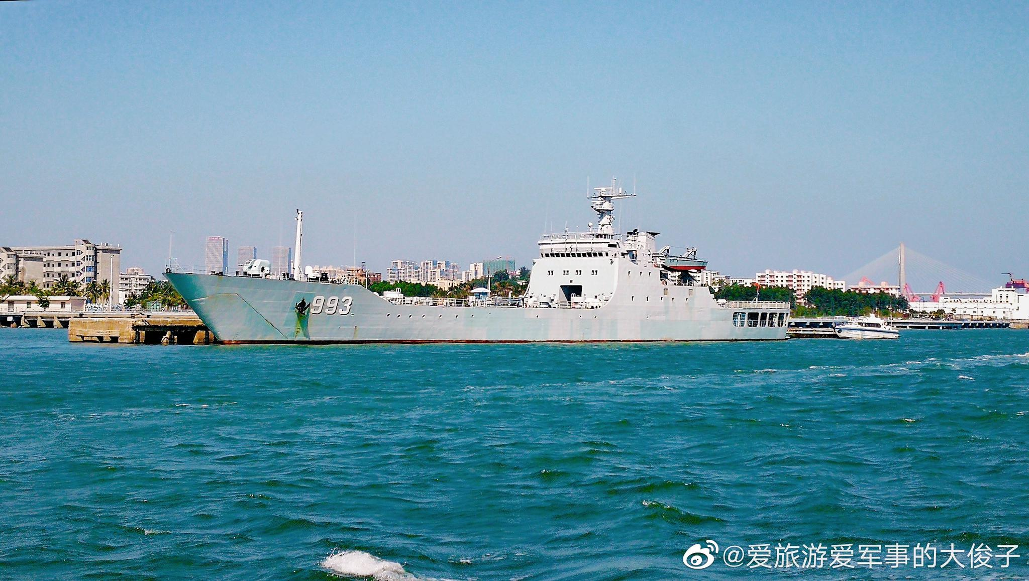 072A型大型坦克登陆舰993罗霄山舰