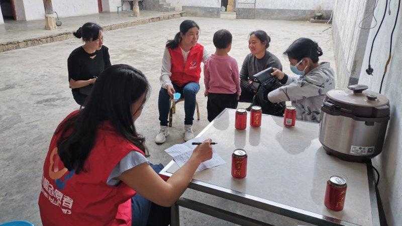 市妇联走访重点户1432户 未发现因疫情防控造成儿童监护缺失