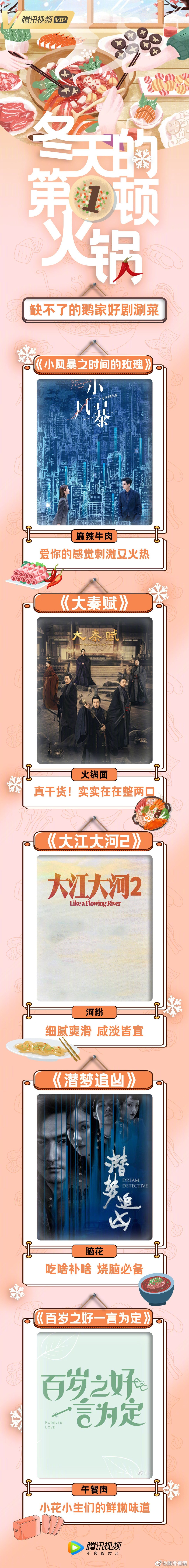 腾讯视频12月备播新剧