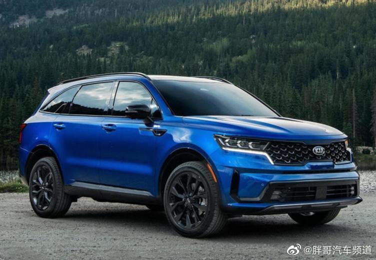 起亚全新索兰托在海外市场正式发布,新车定位为一款中型SUV