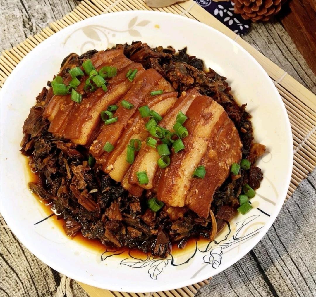 宁波人家常菜—霉干菜焖肉