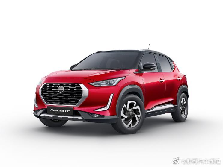 这鼻子长的日产MAGNITE官图发布,新车定位于小型SUV