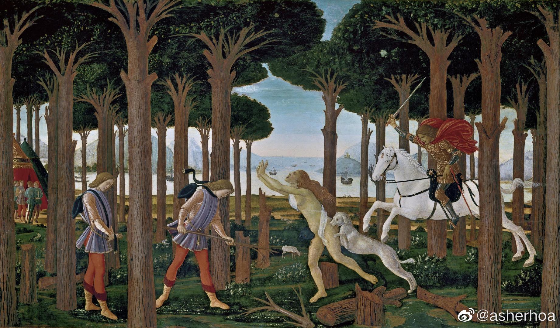 文艺复兴时期意大利佛罗伦萨著名画家桑德罗·波提切利(Sandro Bottic