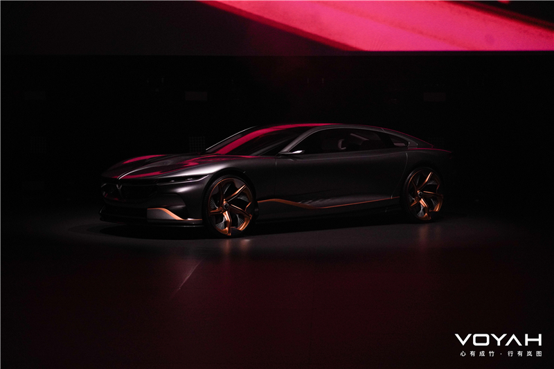 """""""淡、静、雅""""设计理念,岚图品牌概念车VOYAH i-Land全球首发"""