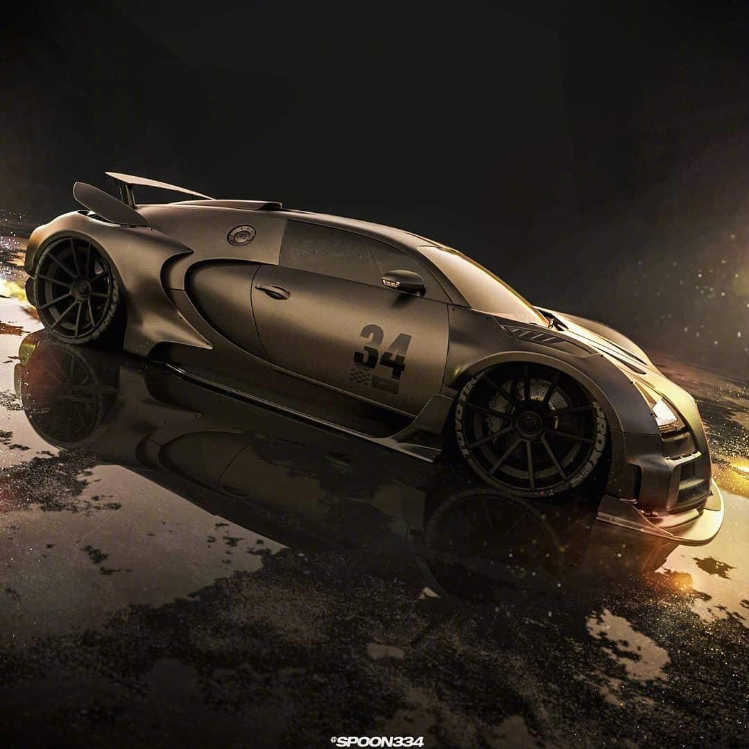 超级型酷布加迪Veyron