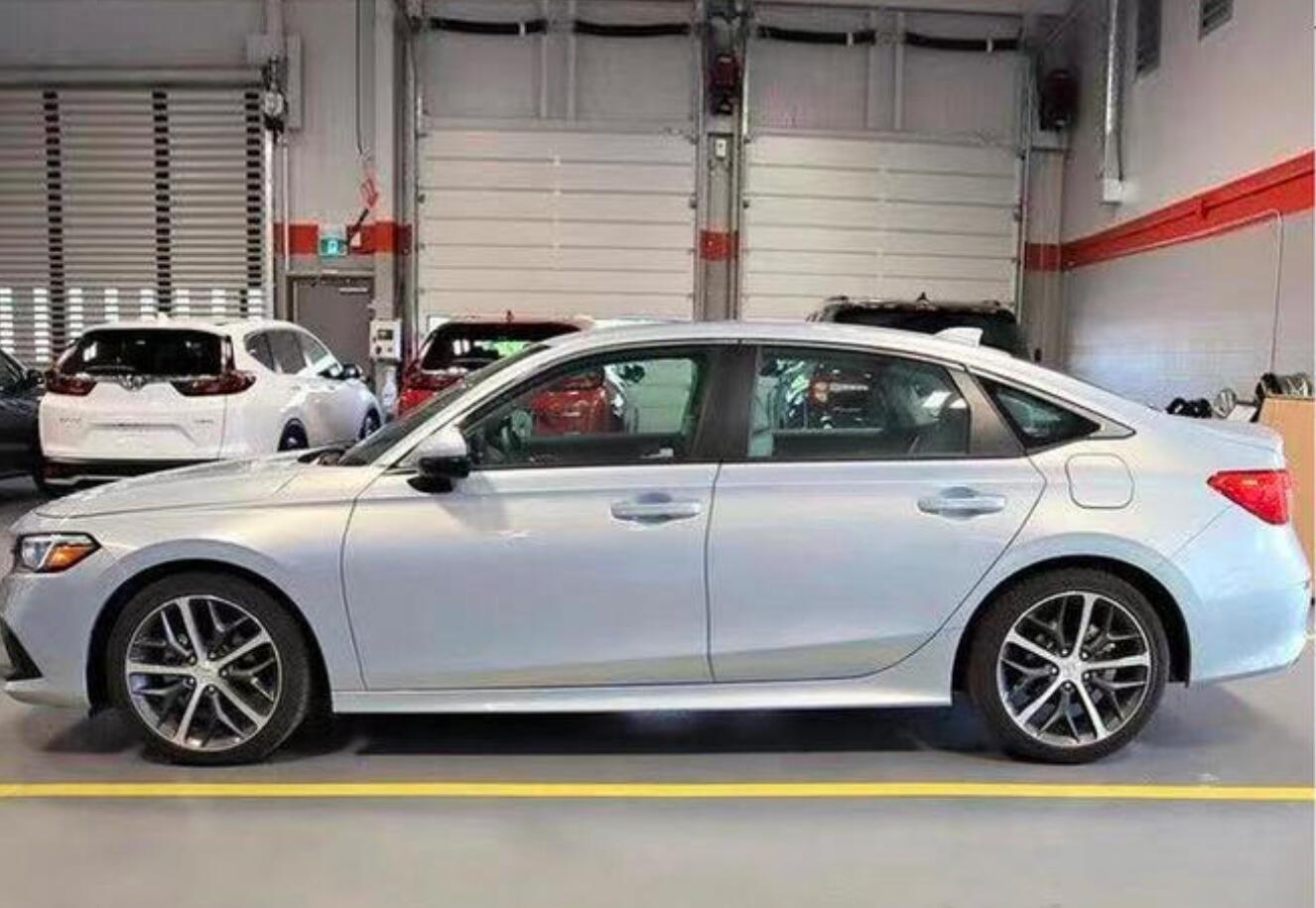 本田全新思域海外最新实拍 国产版车型有望年内发布