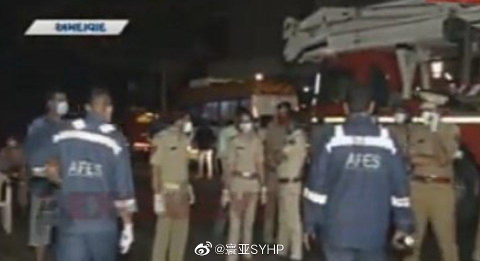 印度古吉拉特邦艾哈迈达巴德的一家医院发生火灾,造成8人死亡
