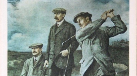 高尔夫收藏与历史之46:英国公开赛和伟大的三巨头