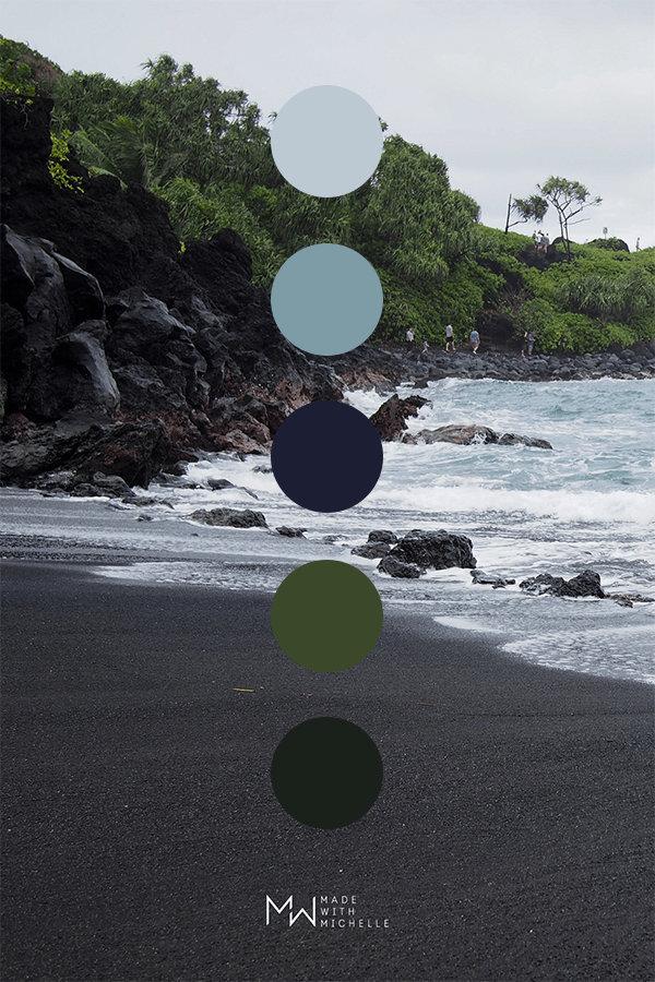 对颜色情有独钟,毛伊岛的调色盘MADE WITH MICHELLE