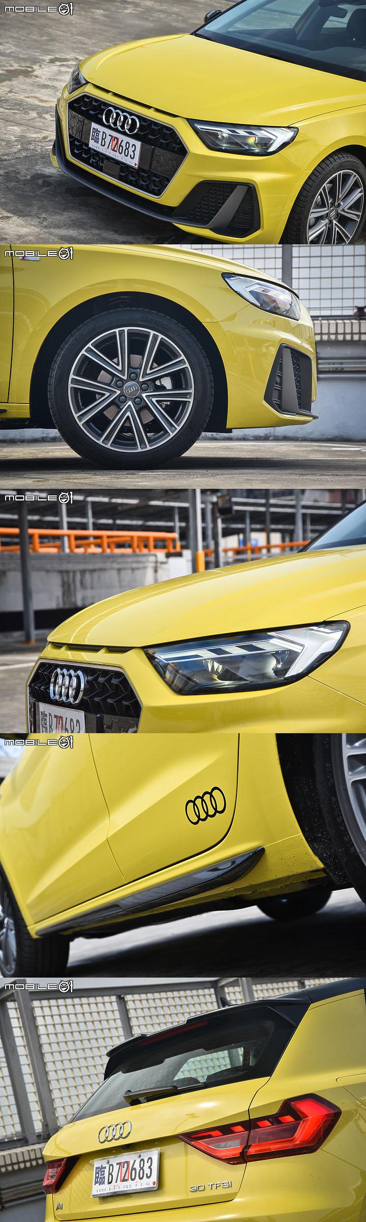 Audi New A1 Sportback 30 TFSI S line //  (PIC:mobile01)