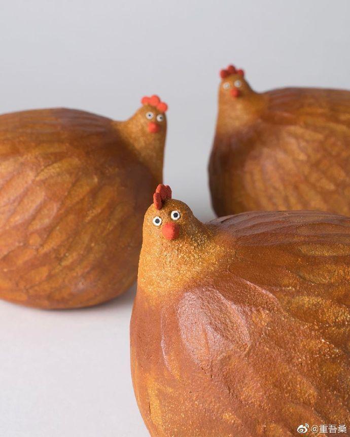 可爱的动物们英国陶瓷艺术家 Nosey Mungo 作品