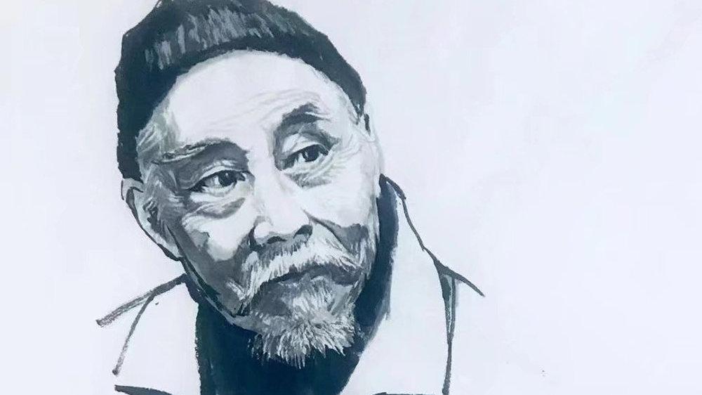 《中国百年文化巨匠水墨肖像》——叶浅予