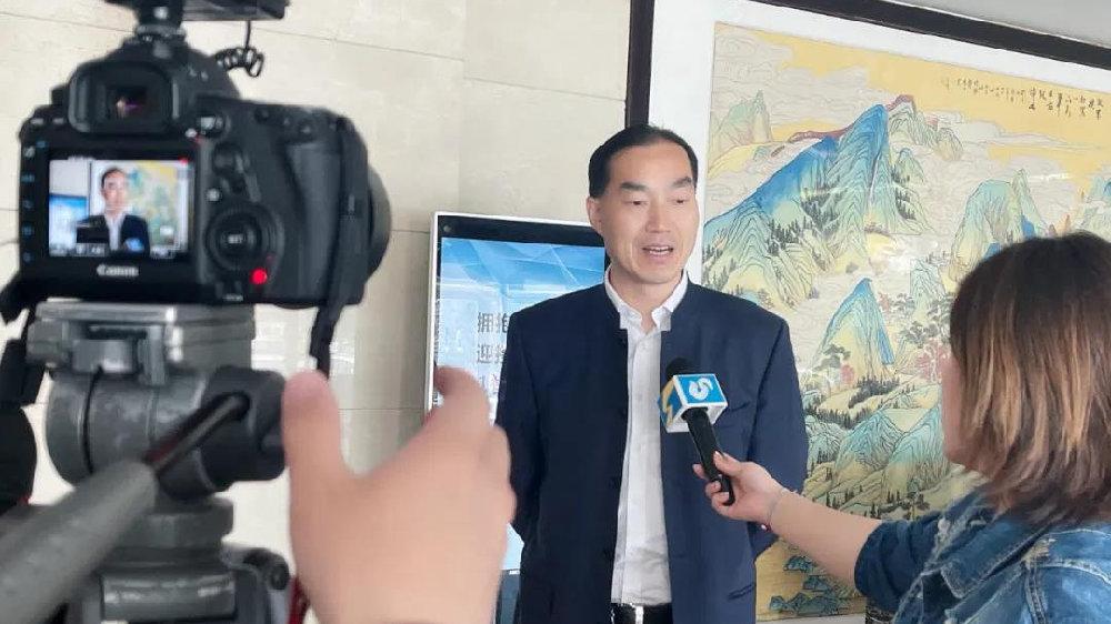 山东卫视新闻联播报道师董会淄博论坛