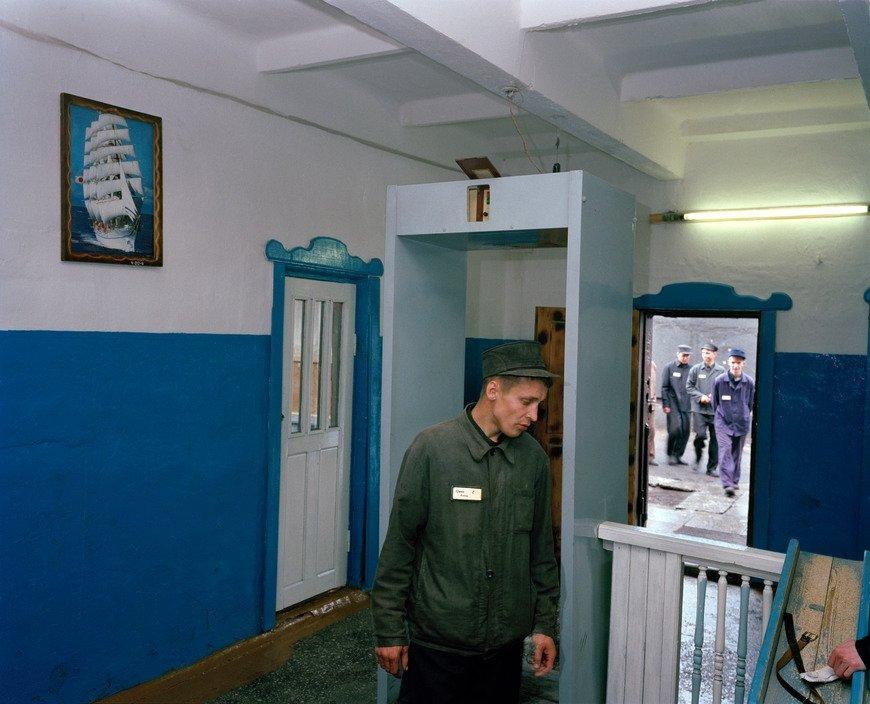 西伯利亚的监狱之景摄影人:Carl De Keyzer