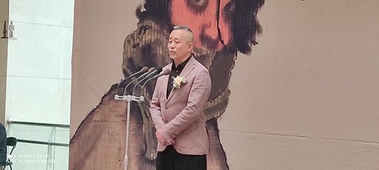 杜建奇素描艺术展在石家庄市美术馆开幕