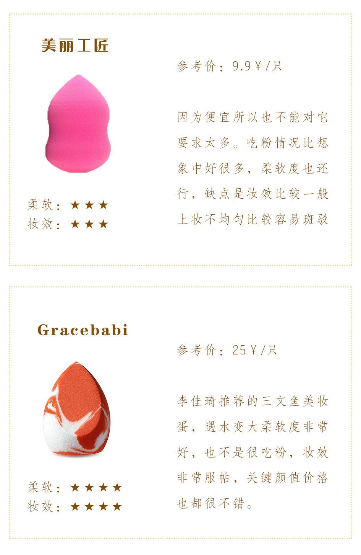 日常化妆必不可少的工具肯定是美妆蛋