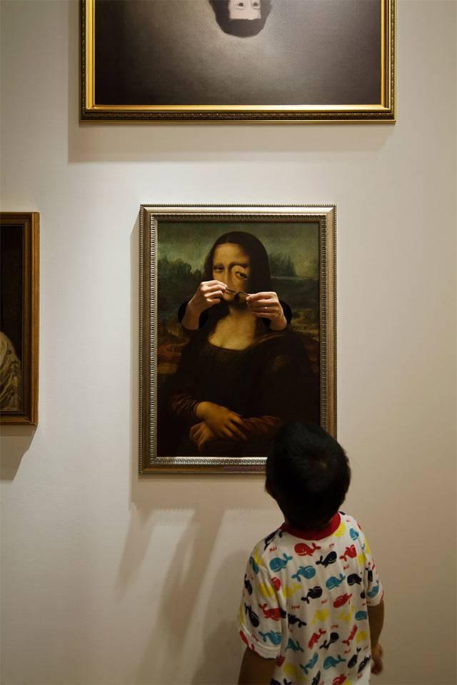 日本东京当代艺术博物馆为了激发儿童对艺术品的兴趣而做的这样一个特