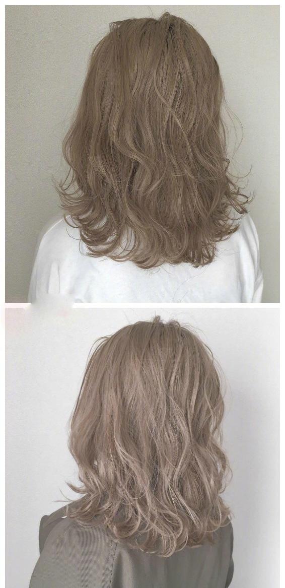 最日常不挑皮的各种色调的棕色系发色