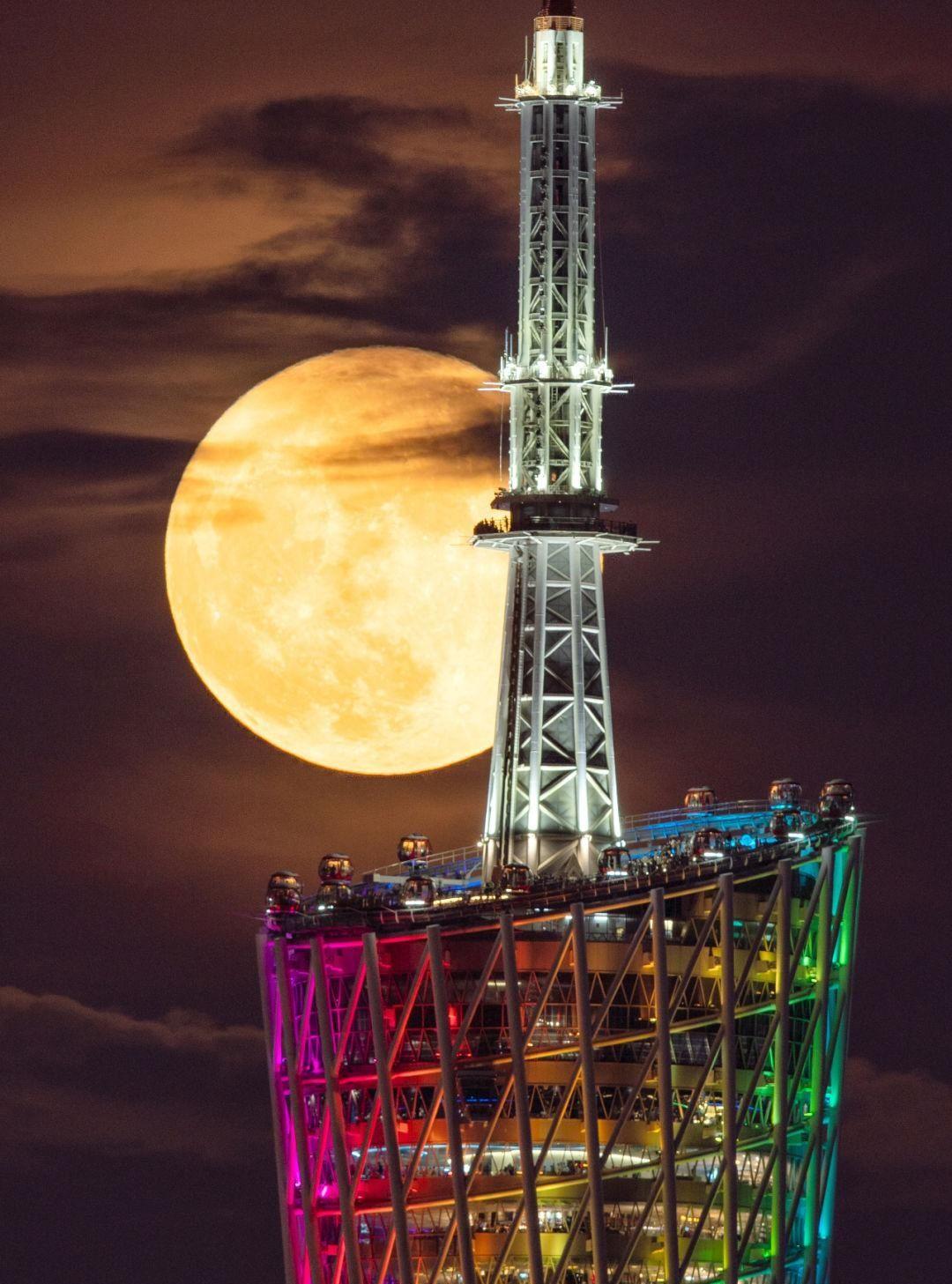 蔡甸人 中秋的月亮你看了吗?高清美图来了