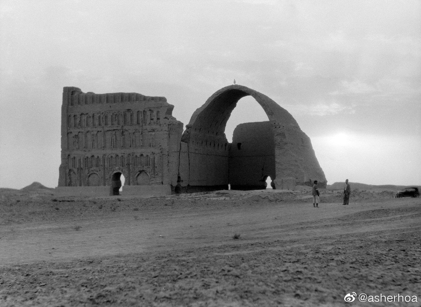 伊拉克境内泰西封塔克基思拉宫遗址……
