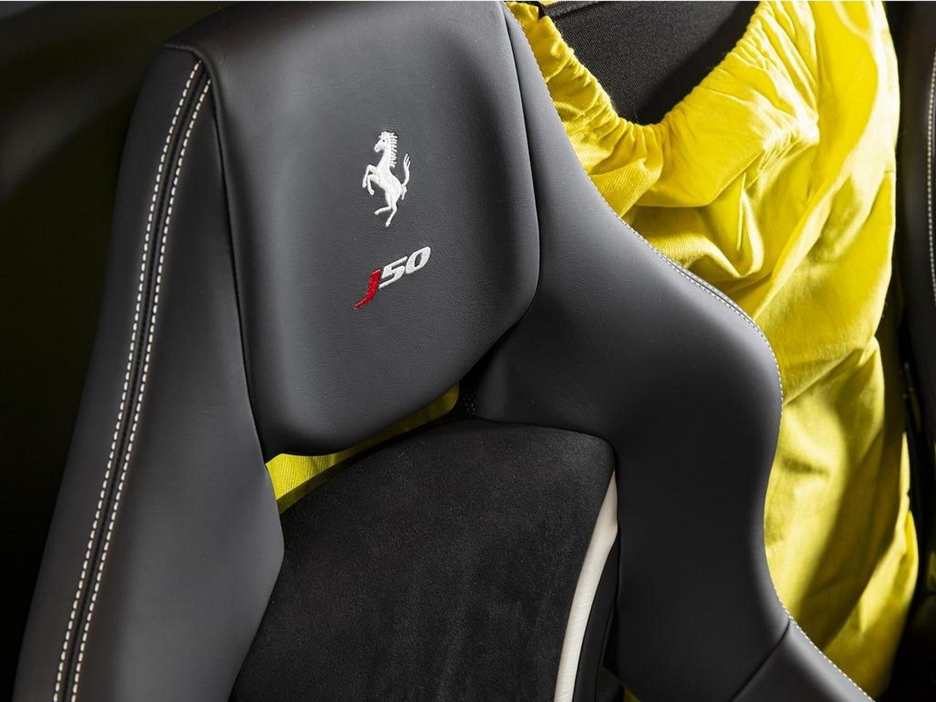 全球仅有的10台之一,法拉利J50正在日本出售