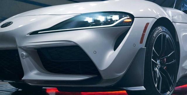 2022款丰田Supra碳纤维特别版官图发布
