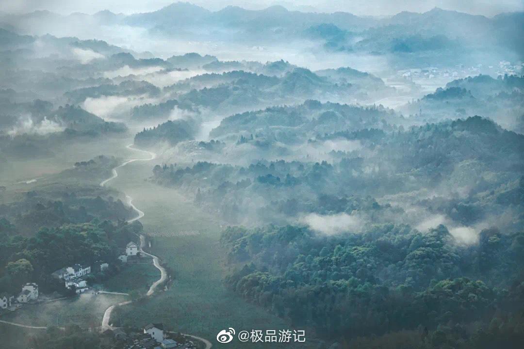 徽州白岳——齐云山,与黄山南北相望,相映生辉