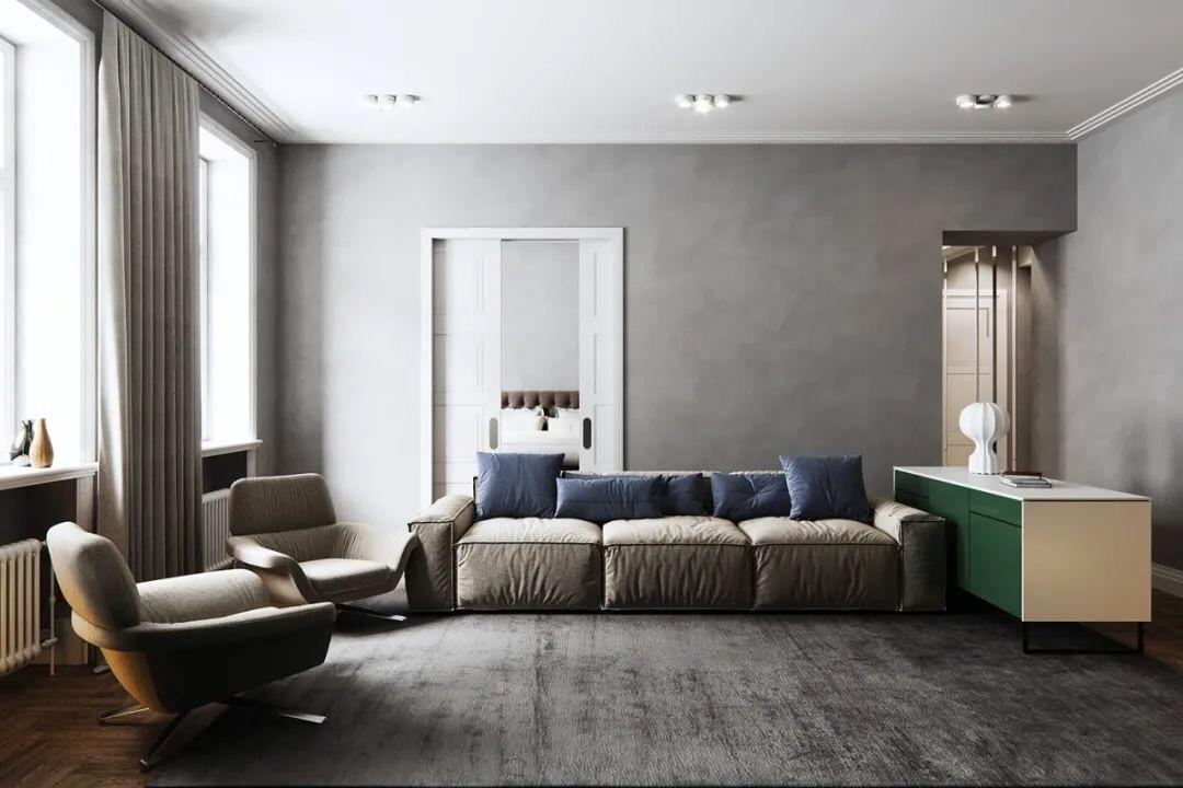 简约高级灰设计,竟如此惊艳 汕头室内设计/揭阳普宁潮州室内设计