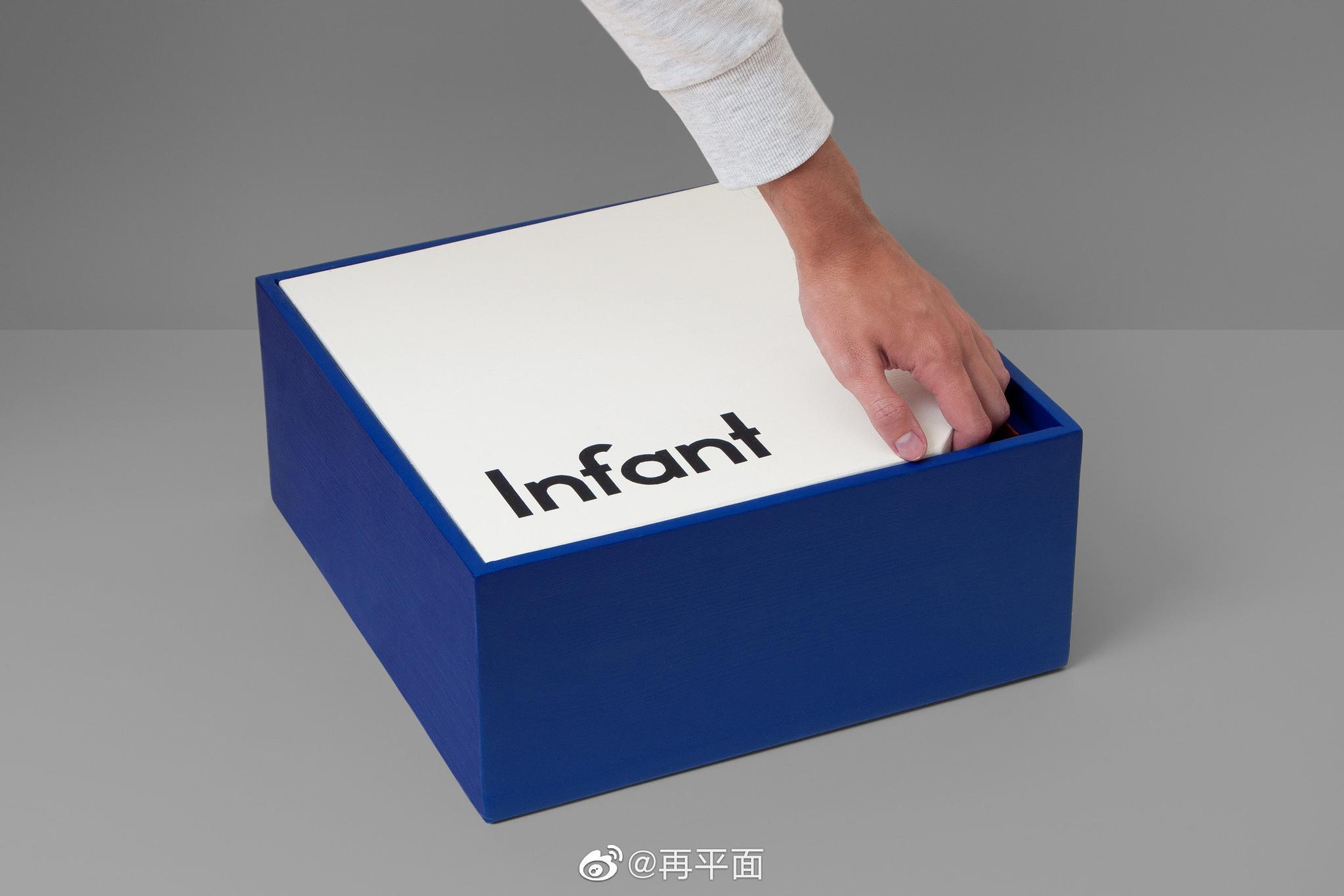 《Infant Font》这套字体由平面设计师Johanne Lian Olsen设计
