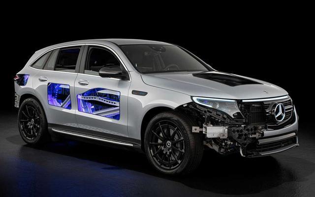 奔驰EQC 4x4-2概念车来袭,搭双电机驱动,你心动了吗?