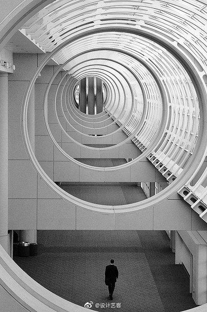 建筑空间,阵列...