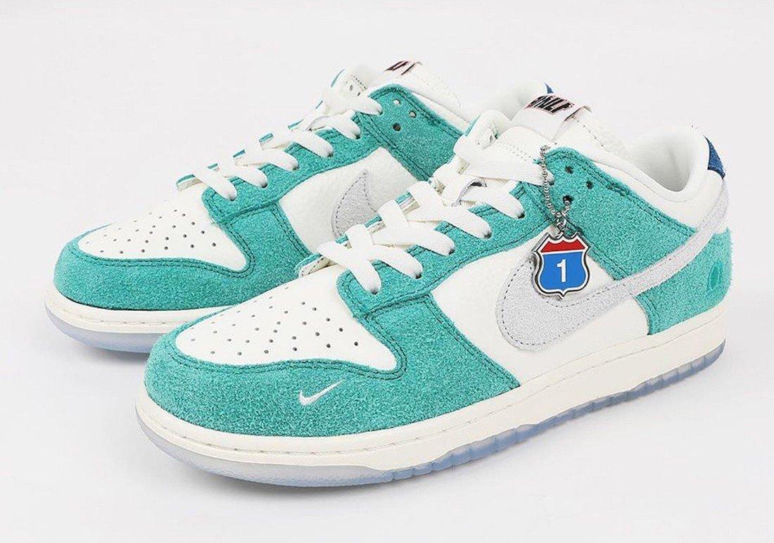 Kasina x Nike Dunk Low 全新联名系列鞋款官图一览此次这两双联名 N