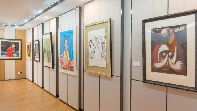 琼华九璋丨时代的印记——国际名家版画艺术展在济开幕