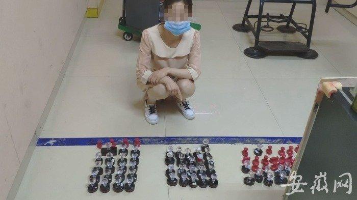 淮南警方查获一企业伪造百余印章 抓获8名嫌疑人