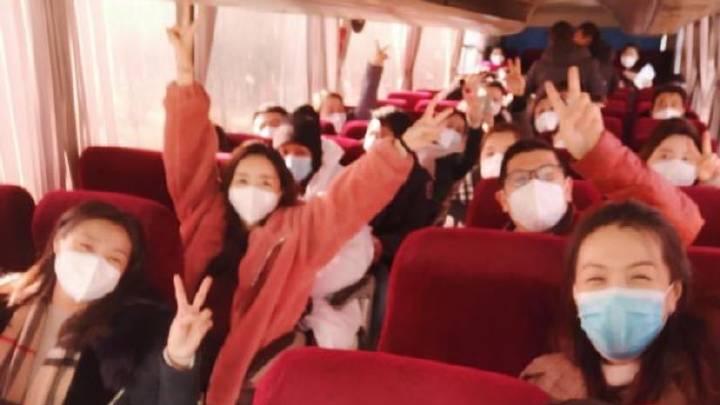 【疫情防控】2021年河北省艺术类专业招生音乐类统考评委顺利返程